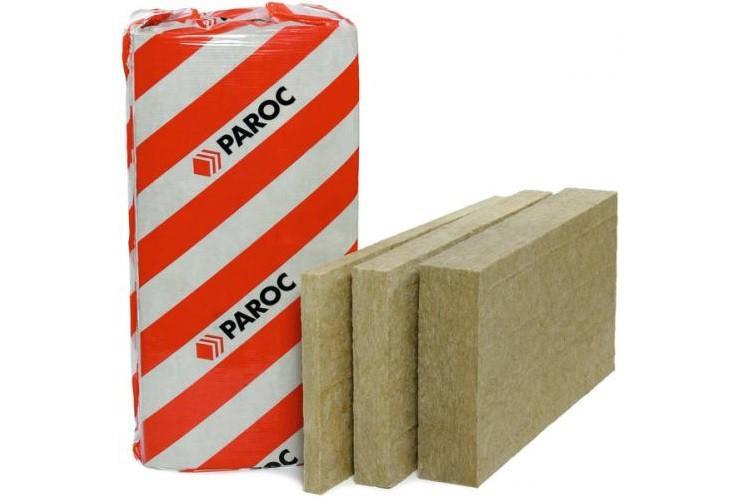 Теплоизоляция базальтовая вата Paroc (Парок) толщина 100 мм