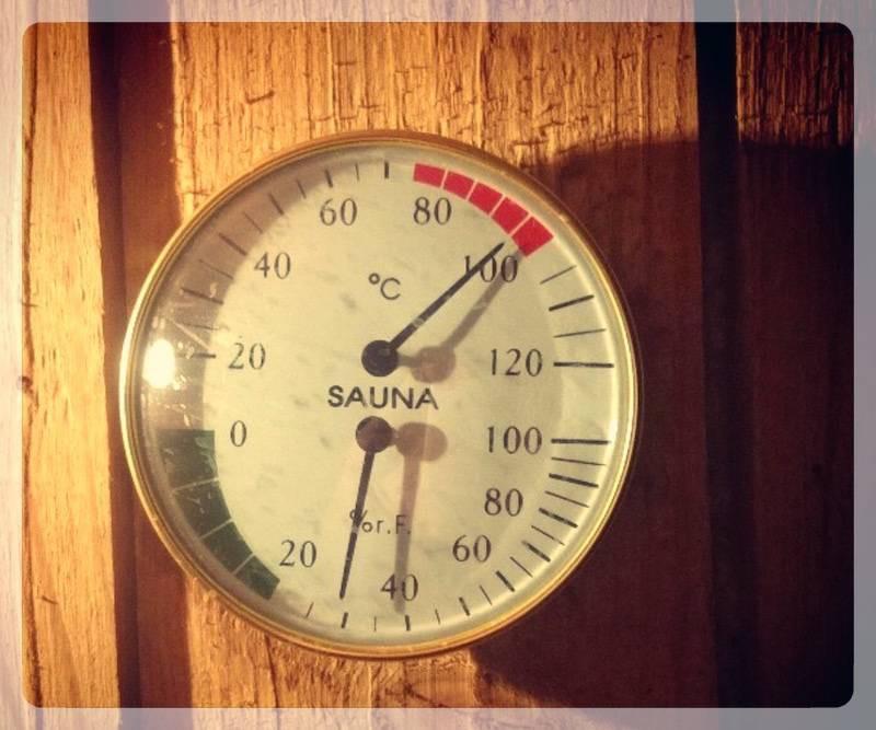 Термометр в парной