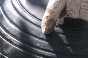 На проходном элементе есть удобная разметка под разные диаметры дымоходов