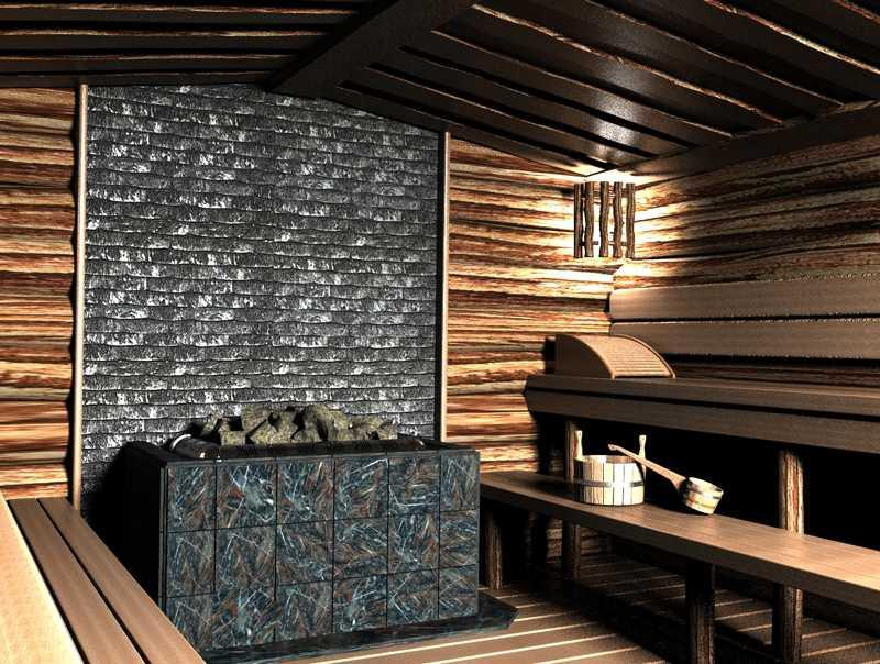 Внутренняя отделка бани своими руками подбор пород древесины для разных помещений и порядок работ