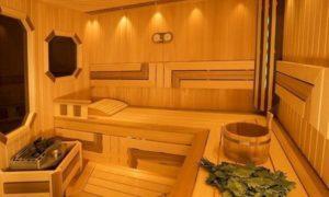 Отделка бани изнутри