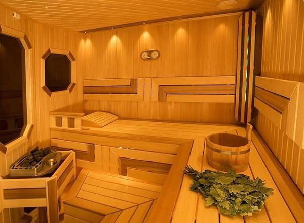 На что обратить внимание при отделке внутреннего помещения бани