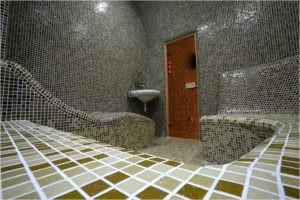 Пример отделки парной мозаикой
