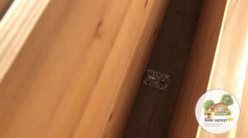 Фиксация стенокомплекта