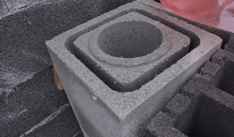 Блоки из вулканической пемзы