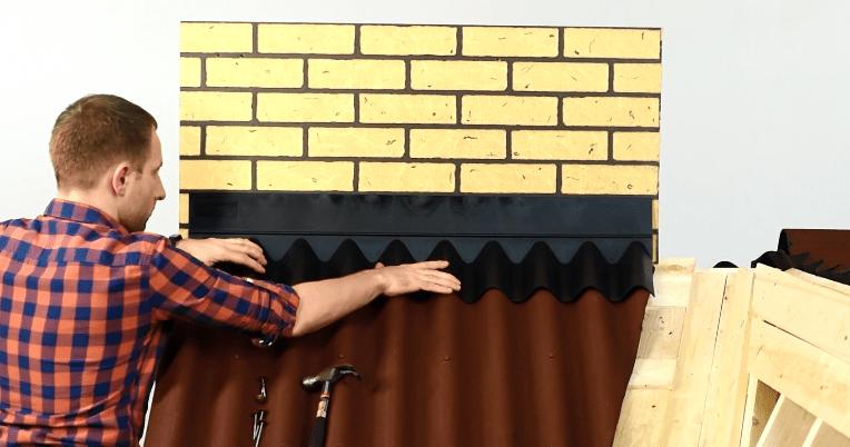 Покрытие крыши ондулином