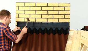 Крепление фартука