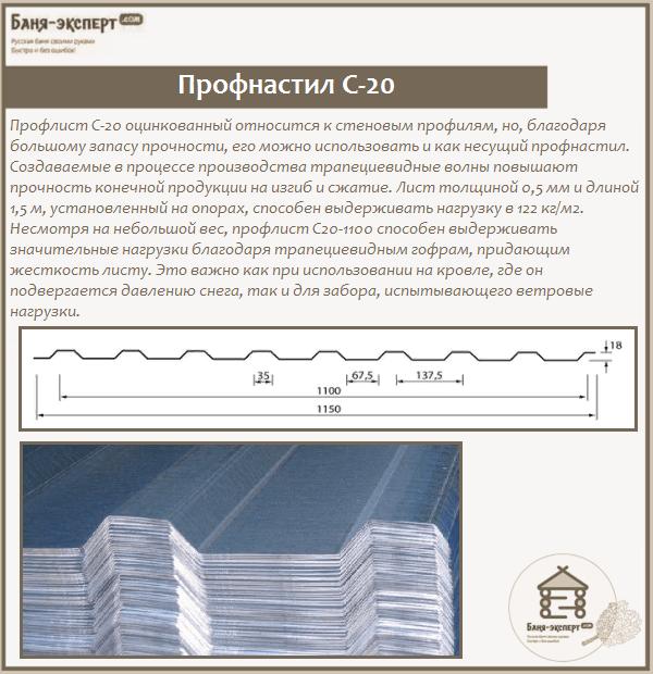 Профнастил С-20