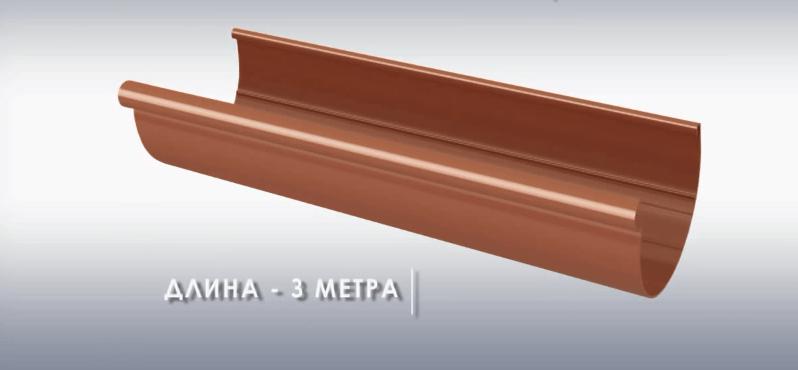 Длина желоба 3 метра