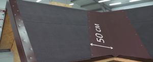 Ширина ковра не менее одного метра