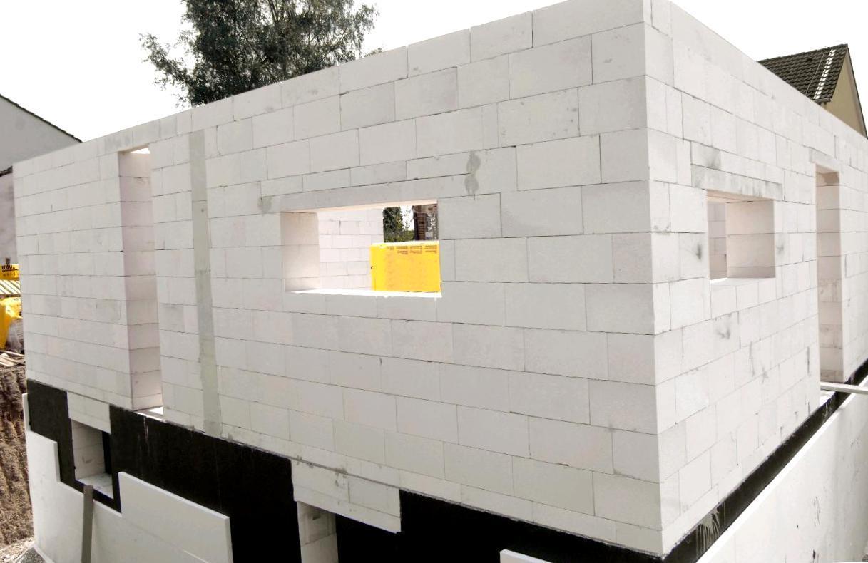Коробка частного дома из газобетона
