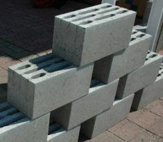 Стандартные габариты стеновых блоков 19х19х39 см, перегородочные имеют ширину 9 см